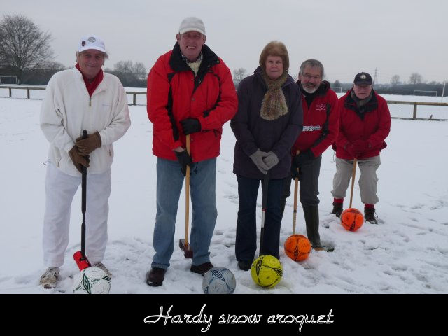 Hardy snow Croquet