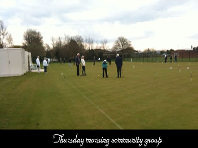 Thursday morning Community Group